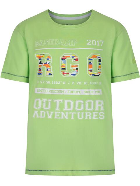 Regatta Bobbles II Shortsleeve Shirt Children green